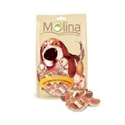"""Molina - Лакомство для собак """"Рулетики из трески и курицы"""""""