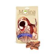 """Molina - Лакомство для собак """"Стейк из ягненка и курицы"""""""