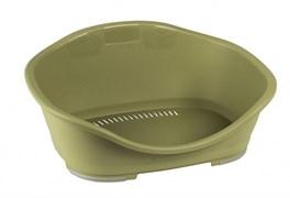 Stefanplast - Пластиковый Лежак Sleeper 1: 57*42*24см, зеленый