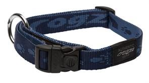 Rogz - Ошейник, темно-синий (размер XL (43-70 см), ширина 2,5 см) ALPINIST SIDE RELEASE COLLAR