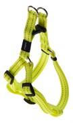 Rogz - Шлейка разъемная, желтый (размер M (42-61 см), ширина 1,6 см) UTILITY STEP IN HARNESS