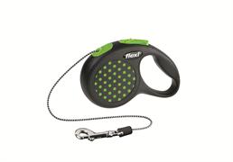 Flexi - Рулетка-трос для собак, размер XS - 3 м до 8 кг (зеленая) Design Cord green