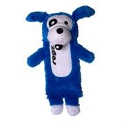 Rogz - Мягкая игрушка с карманом для пластиковой бутылки, большая (синий) THINZ LARGE PLUSH TOY