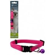 """Papillon - Ошейник для кошек """"Сэсси"""" 10 мм, 21 - 33 см, розовый"""