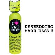 """Pet Head - Шампунь для линяющих кошек """"Чудо-линька"""" (клубнично-лимонадный), без сульфатов и парабенов"""
