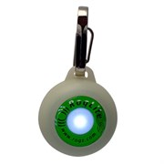 Rogz - Светящаяся подвеска (белый) SAFETY LIGHT