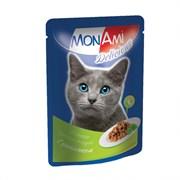 MonAmi - Паучи для кошек (с цыпленком)