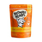 """Barking Heads - Паучи для кошек и котят """"Куриное наслаждение"""" (с курицей и говядиной) Paw Lickin' Chicken"""