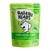 """Barking Heads - Паучи для собак """"Мечты о ягненке"""" (с ягненком) Chop Lickin' Lamb"""