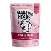 """Barking Heads - Паучи для собак старше 7 лет  """"Золотые годы"""" (с курицей и лососем) Golden Years"""
