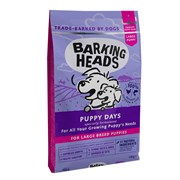 """Barking Heads - Сухой корм для щенков крупных пород """"Щенячьи деньки"""" (с курицей, лососем и рисом) Puppy Days Large Breed"""