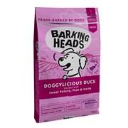 """Barking Heads - Сухой корм беззерновой для собак """"Восхитительная утка"""" (с уткой и бататом) Doggylicious Duck"""