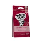 """Barking Heads - Сухой корм для кошек старше 7 лет """"Мудрые года"""" (с лососем и яйцом) Senior Moments"""