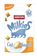 Animonda - Лакомство для кошек для вывода комочков шерсти из желудка (домашняя птица) Milkies Harmony Anti Hairball