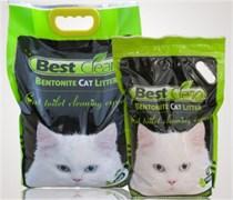 Best Clean - Наполнитель комкующийся для кошек (яблоко)