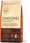 One&Only – Сухой корм для юниоров (индейка с бурым рисом) Turkey&Rice Junior