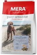 Mera - Сухой беззерновой корм для собак всех пород с чувствительным пищеварением (с сельдью и картофелем) Рure Sensitive  fresh meat Adult Hering&Kartoffel