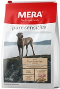 Mera - Сухой полнорационный корм для взрослых собак с чувствительным пищеварением (с индейкой и рисом) Pure Sensitive Adult Truthahn&Reis