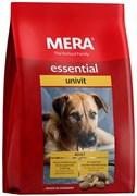 Mera - Сухой полнорационный корм для взрослых собак  с нормальным уровнем активности (с птицей) Essential Univit