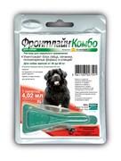 Frontline (Merial) -  Комбо для собак 40-60 кг от блох, клещей и яиц, 1 пипетка, Combo XL