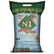 N1 - Силикагелевый наполнитель, 30л, (Синий) Crystals
