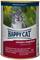Happy Cat - Консервы для кошек (кусочки кролика и индейки в соусе) - фото 16035