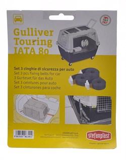 Stefanplast - Автомобильные ремни безопасности для переноски Gulliver Touring (3шт) - фото 15389