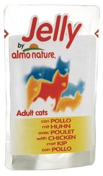 Almo Nature - Паучи для кошек (курица в желе) Jelly Cat Chicken - фото 15430