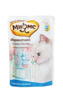 """Мнямс - Паучи для кошек """"Мармитако страны басков"""" (лосось с паприкой) - фото 15460"""