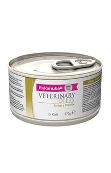 Eukanuba - Консервы ветеринарная диета для кошек при мочекаменной болезни струвитного типа (курица) Veterinary Diets Cat Urinary Struvite - фото 15504