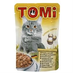 Tomi - Паучи для кошек (птица с кроликом) - фото 15527