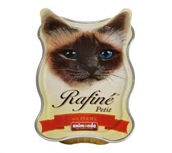 Animonda - Консервы для взрослых кошек (с сердцем) Rafine Petit - фото 15670