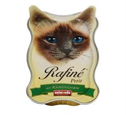 Animonda - Паштет для взрослых кошек (из кролика) Rafine Petit - фото 15697