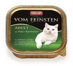 Animonda - Консервы для взрослых кошек (с индейкой и кроликом) Vom Feinsten Adult - фото 15702