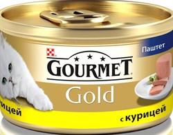 Purina Gourmet - Влажный корм для кошек (Паштет из курицы) Gold - фото 16100