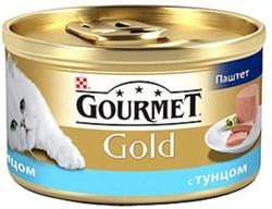 Purina Gourmet - Влажный корм для кошек (Паштет из тунца) Gold - фото 16102