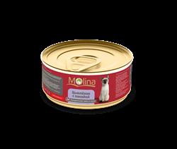 """Molina - Консервы для кошек """"Цыпленок с папайей в соусе"""" - фото 16216"""