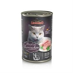 Leonardo - Консервы для взрослых кошек (c кроликом) Quality Selection Rich In Rabbit - фото 16246