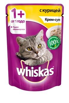 Whiskas - Паучи для кошек (Крем-суп с курицей) - фото 16343