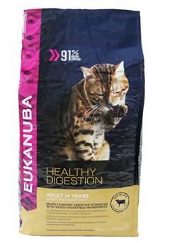 Eukanuba - Сухой корм для взрослых кошек (с ягненком и печенью) Cat Adult Lamb & Liver - фото 16438