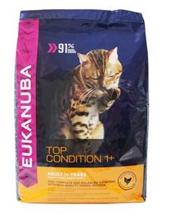 Eukanuba - Сухой корм для взрослых кошек (с курицей и печенью) Cat Adult Chicken & Liver - фото 16460
