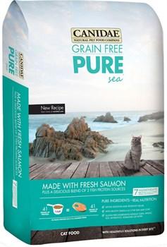 "Canidae - Сухой корм для кошек, беззерновая формула ""Чистое море"" (со свежим лососем) Grain Free Pure Sea with Fresh Salmon - фото 16486"