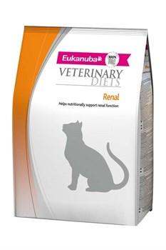 Eukanuba - Сухой корм ветеринарная диета для кошек при заболеваниях почек (курица) Veterinary Diets Cat Renal - фото 16489