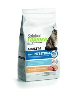 Trainer - Сухой корм для кошек с чувствительным пищеварением (со свежим белым мясом) Solution Sensintestinal With Fresh White Meats - фото 16534