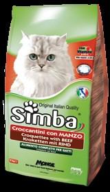 Simba Cat - Сухой корм для кошек (с говядиной) - фото 16548