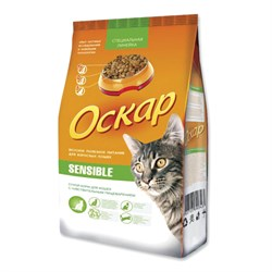 Оскар - Сухой корм для привередливых кошек SENSIBLE - фото 16600
