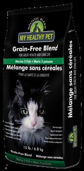 Holistic Blend - Cухой беззерновой корм для кошек (5 морских рыб) - фото 16639