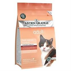 Arden Grange - Сухой беззерновой корм для взрослых кошек (с лососем и картофелем) Adult Cat Salmon & Potato - фото 16696