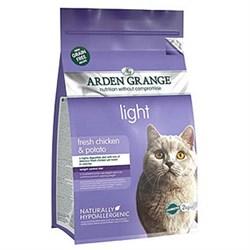 Arden Grange - Сухой беззерновой диетический корм для взрослых кошек Adult Cat Light - фото 16698