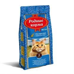 Родные Корма - Сухой корм для взрослых стерилизованных кошек 30/14 - фото 16703
